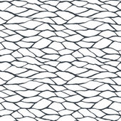 Seamless pattern with hand drawn abstract ornament — Vector de stock