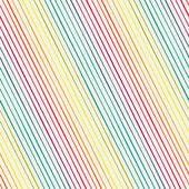 Seamless pattern with rainbow diagonal stripes — Stok Vektör