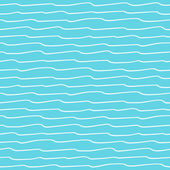 Seamless pattern with waves texture — Stock Vector