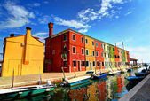 Burano, Italy — Stock Photo