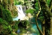 Vaioaga waterfall, Romania — Stock Photo