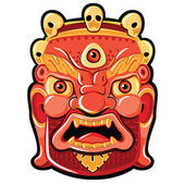 Mahakala — Stock Vector