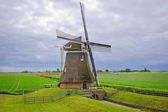 "Mill ""Goliath"", located in the province of Groningen, The Nether — Stock fotografie"