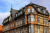 Nice fachwerk House on the Market Square in Wernigerode, Germany — Stock Photo