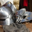 Постер, плакат: Armour of the medieval knight