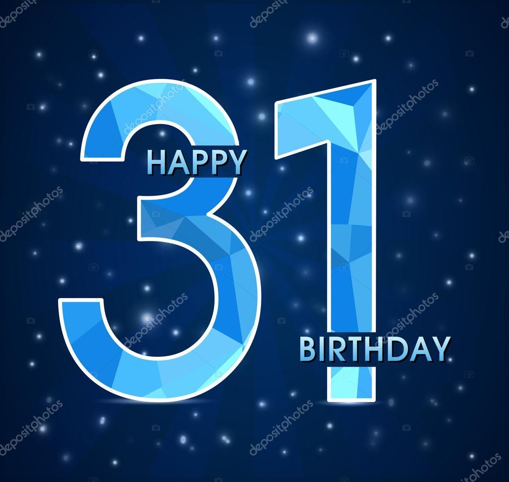 Поздравление с 31 днём рождения 27