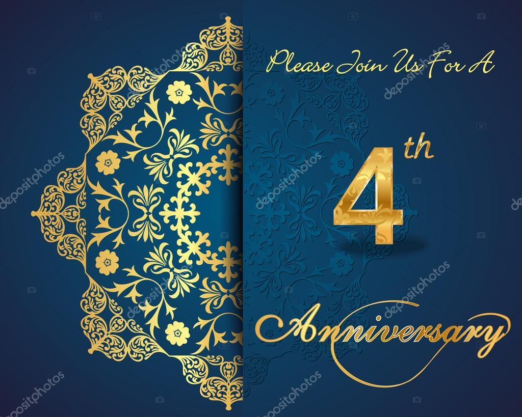 Year anniversary celebration pattern design th