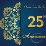 25 year anniversary — Stock Vector #59447971