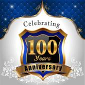 Celebrating 100 years anniversary — Stock Vector