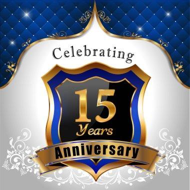 Celebrating 15 years anniversary