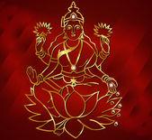 Hindu deity lord Shiva — Stock Vector