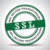 SSL 100 Safety Guarantee seal — Stock Vector