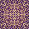 Violet Fantastic Seamless Pattern — Stock Photo #63922955
