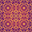 Violet Fantastic Seamless Pattern — Stock Photo #63923847