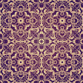 Violet Fantastic Seamless Pattern — Stock Photo