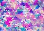 Colores de fondo triangular. — Foto de Stock