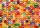Colorful Hexagonal Background. — Stock Photo