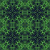 Green Fantasy Seamless Pattern — Stock Photo