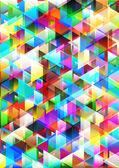 Fundo colorido triangular. — Fotografia Stock