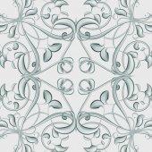 Metallic Silver Christmas Pattern — Stock Photo