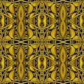 Luxe gouden naadloze patroon — Stockfoto