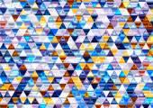 Shiny Triangular Background. — Stock Photo