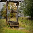 Old village well — Stock Photo #51832425