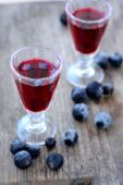 Currant liqueur — Stock Photo