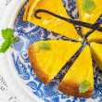Orange cake with orange slices — Stock Photo #66780731