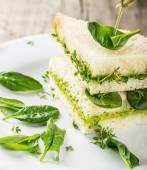 Toast with avocado — Stock Photo