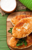 Fried pies — Stock Photo