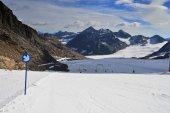 Pitztaler gletscher — ストック写真