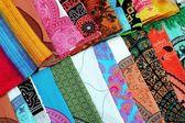 Balinese sarongs — Stock Photo
