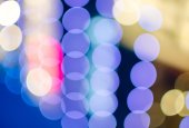Colorful bokeh background — Stock Photo