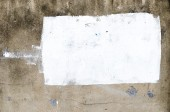 Grunge wall texture background with retangle white paint for add — Stock Photo