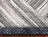 Empty wood table — Stock Photo