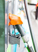 Close up of a gas station — Stock Photo