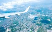 Città di Bangkok in Thailandia con la nube — Foto Stock