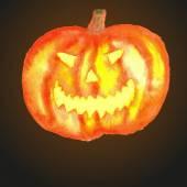 Pumpkin for Halloween. — Stock Vector