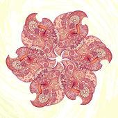 Autumn doodle background — Vecteur