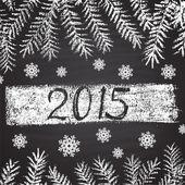 Tema di Capodanno — Vettoriale Stock