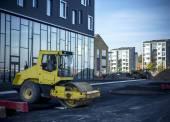 Building place Aalborg Denmark Henning Larsen Waterfront — Foto de Stock