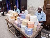 People selling muslim cups — Stock Photo