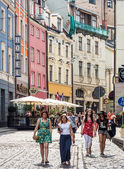 Architecture in the Old Town of Riga — Stock Photo