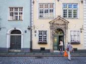Architecture in the Old Town of Riga — Stockfoto