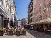 Architecture in the Old Town of Riga — Foto de Stock
