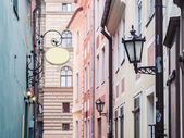 Streets in the Old Town of Riga, Latvia. — ストック写真