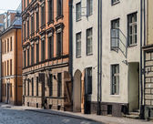 Streets in the Old Town of Riga, Latvia. — Stock Photo