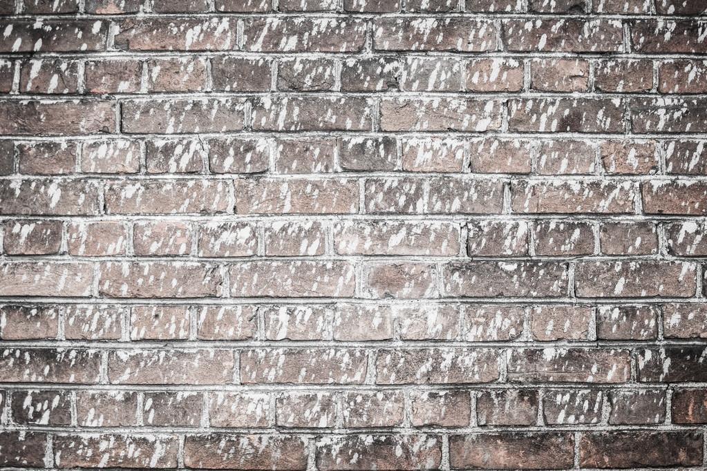 texture d 39 arri re plan le mur de la vieille brique rouge clabouss e de peinture blanche. Black Bedroom Furniture Sets. Home Design Ideas