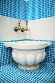 Turkish hamam with ceramic tile — Stock Photo